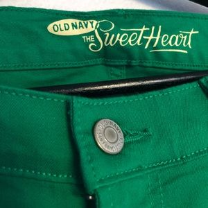 Old Navy Jeans - Green Jeans
